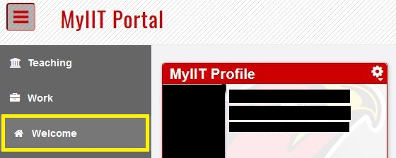 myiit_portal_welcome_tab